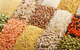 Сложные углеводы: список продуктов в таблице для похудения