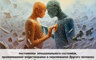 Эмпатия как способность сопереживать