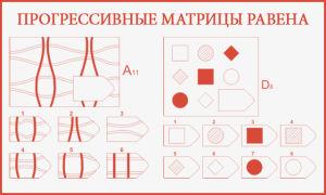 Методика прогрессивных матриц равена для школьников и дошкольников