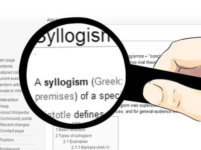 Что такое силлогизм: описание и виды