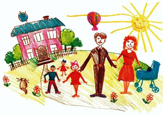 Рисуночный тест «Моя семья». Методика интерпретации рисунка