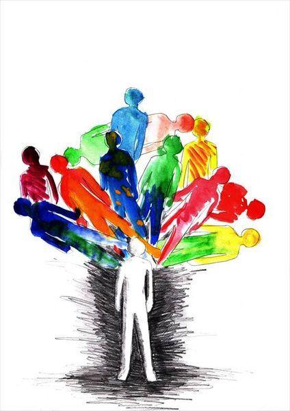 Феномен синдрома расстройства множественной личности