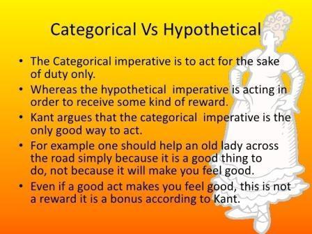 Категорический императив — что это такое, каким образом формулируется
