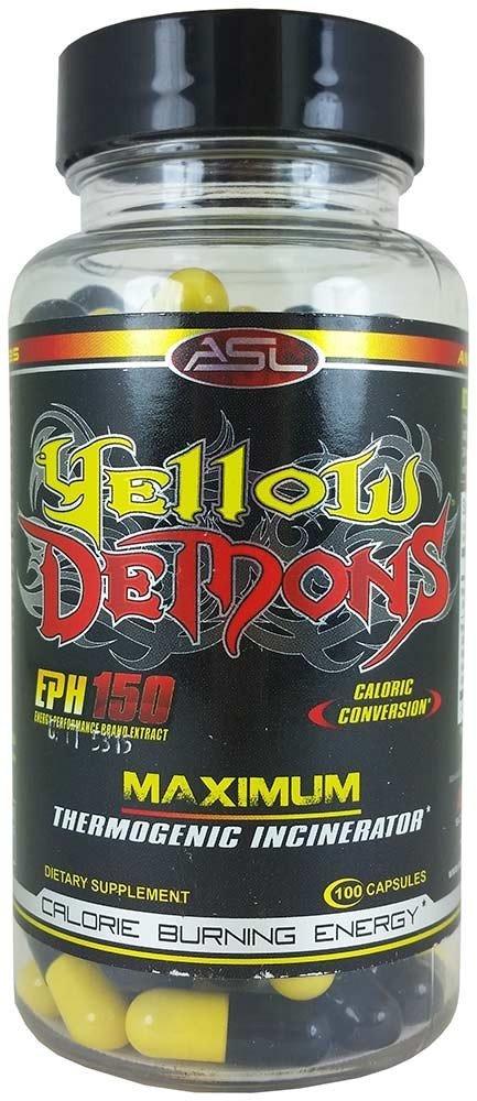 Жиросжигатель yellow demons: Отзывы и инструкция по применению