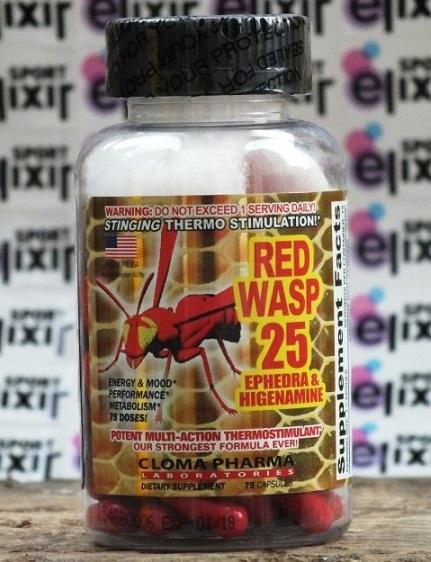 Жиросжигатель red wasp 25 – отзывы на Красную Осу: Узнайте как принимать и какие побочные эффекты есть