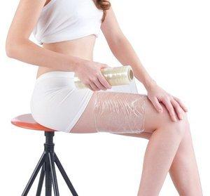 Обёртывание пищевой плёнкой для похудения: Рецепты и как делать