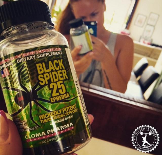 Жиросжигатель black spider 25 ephedra – как принимать таблетки для похудения Чёрная Вдова, отзывы