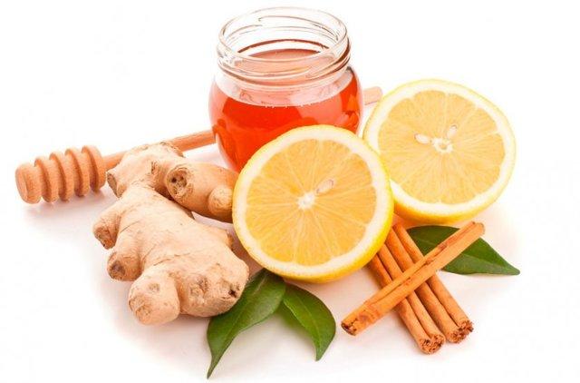 Имбирь, лимон, мед, корица: Рецепт для похудения
