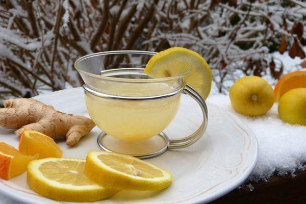 Напиток из имбиря и лимона для похудения: Рецепт чая