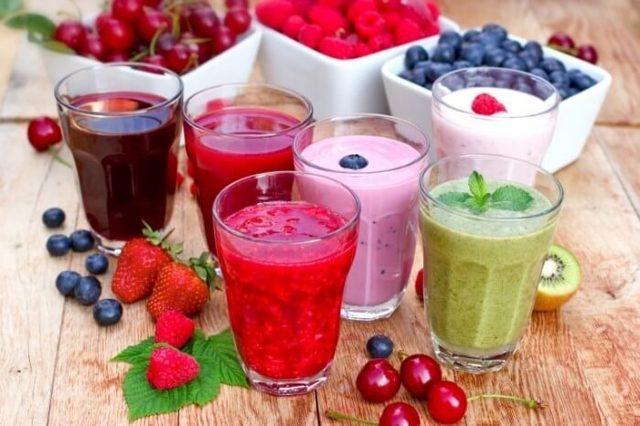 Смузи для похудения: Смузи в блендере рецепты с фото