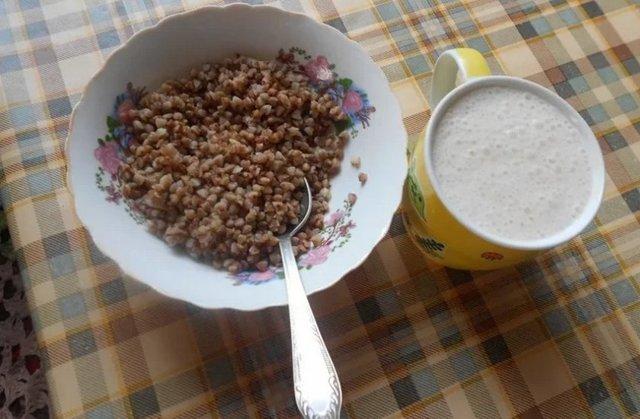 Гречка с кефиром для похудения, как приготовить, как правильно есть
