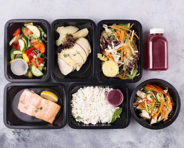 Дробное питание для похудения: Меню на неделю в таблице