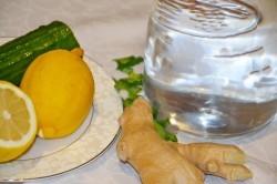 Напиток для похудения имбирь, огурец, лимон, мята: Отзывы о воде