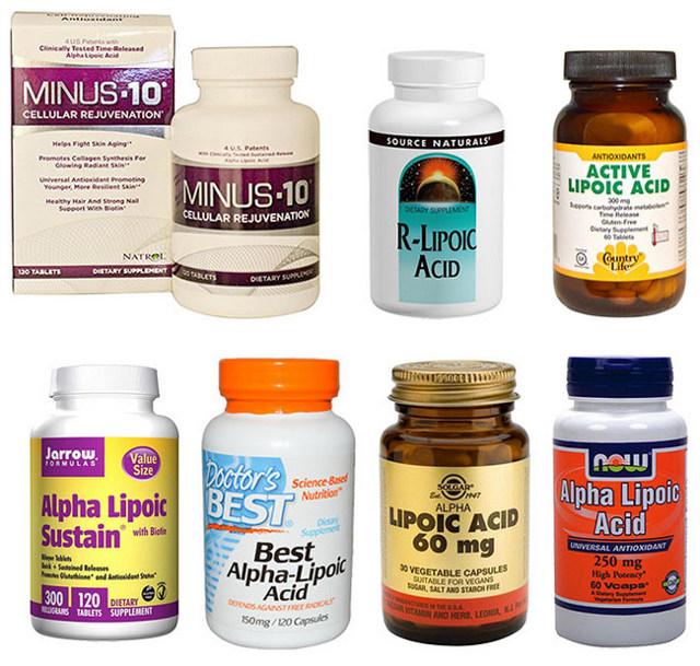 Липоевая кислота для похудения: Инструкция по применению