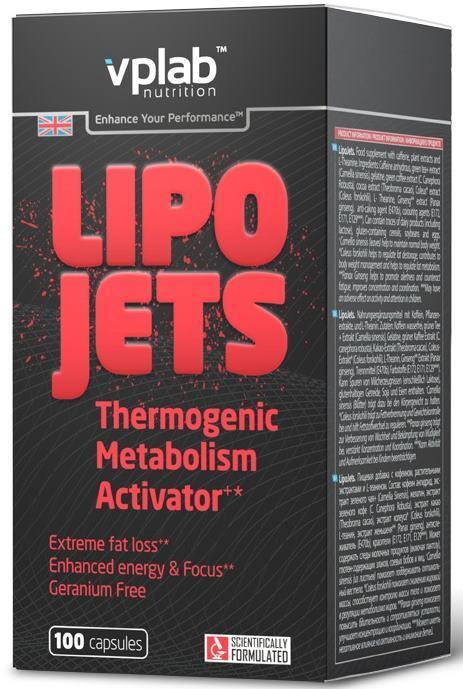Жиросжигатель lipo jets – отзывы на vplab lipojets от специалистов